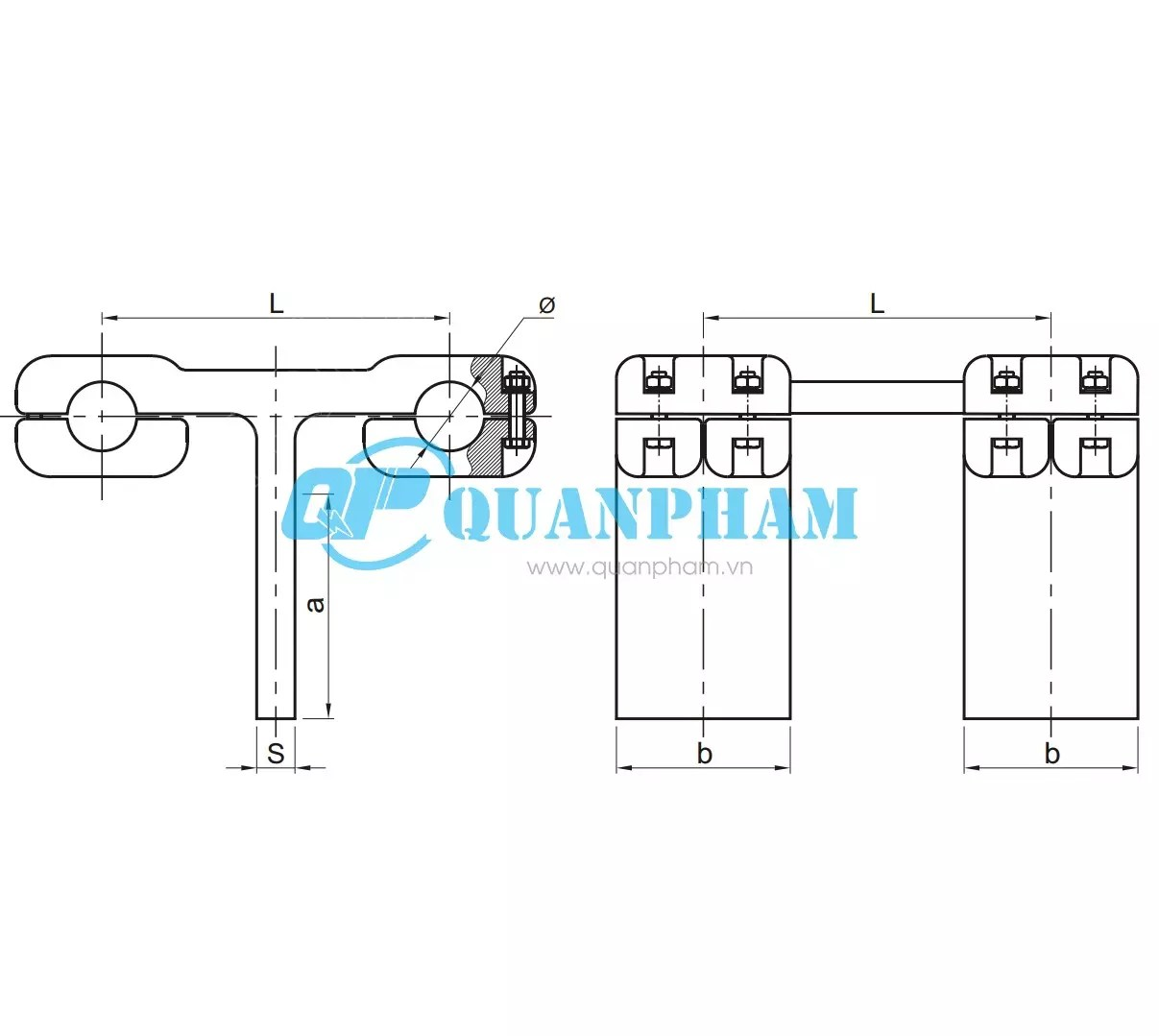 T Connectors For Double Conductor And Tap Conductor Type
