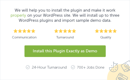 Install this plugin exactly as demo