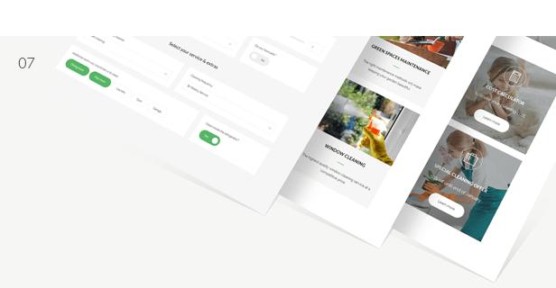 cleaning, cleaning service, gardening, handyman, maintenance WordPress Theme