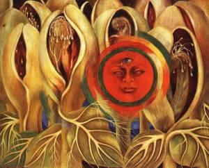 Frida Kahlo - Sun and Life (1947)