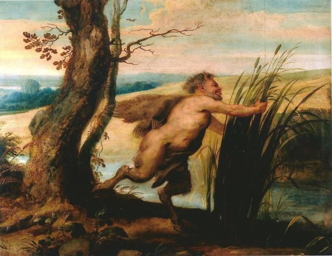 """""""Pan e Siringa. Allegoria della fecondità"""", dipinto di Peter Paul Rubens"""