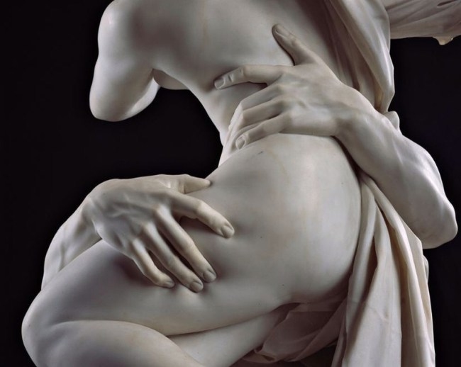 Il Ratto di Proserpina, opera di Bernini, dettaglio