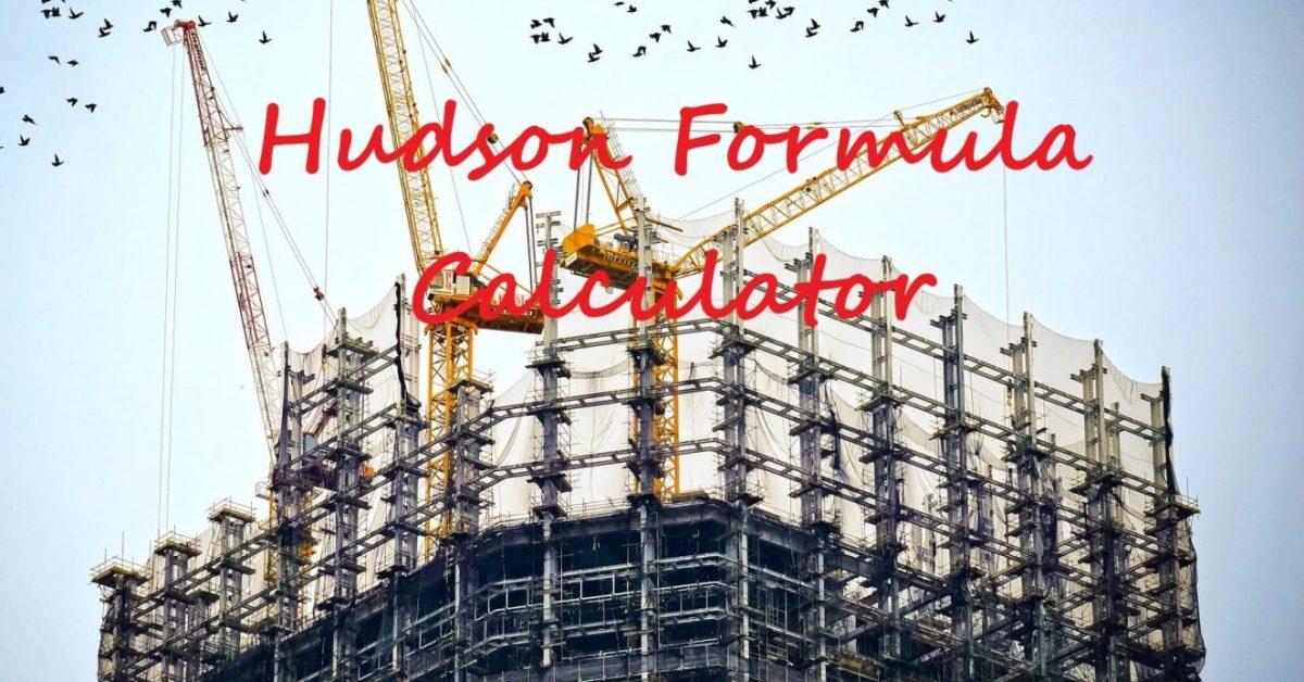 Hudson formula calculator