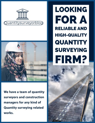 Freelance quantity surveying