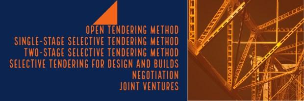 types of tendering methods