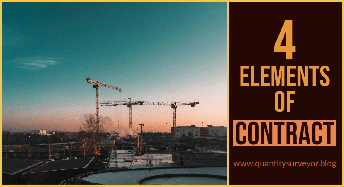 Elements of contract
