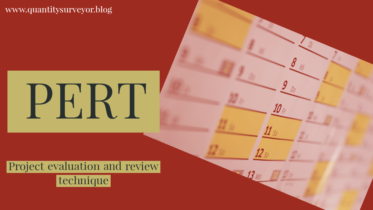 Full form of PERT : Project evaluation and review technique