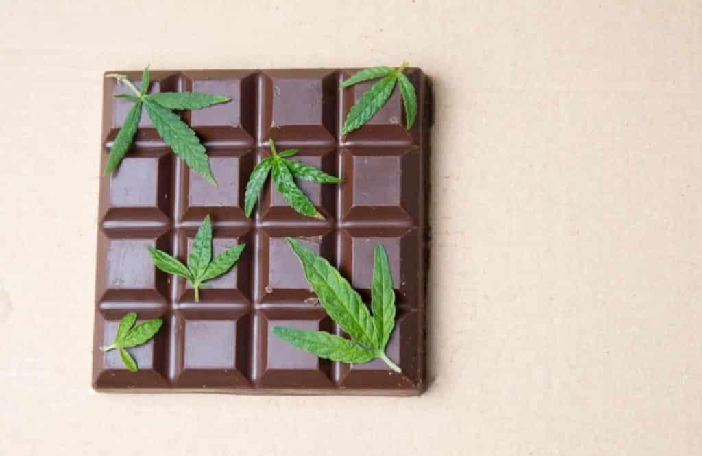 cannabis chocolate bars