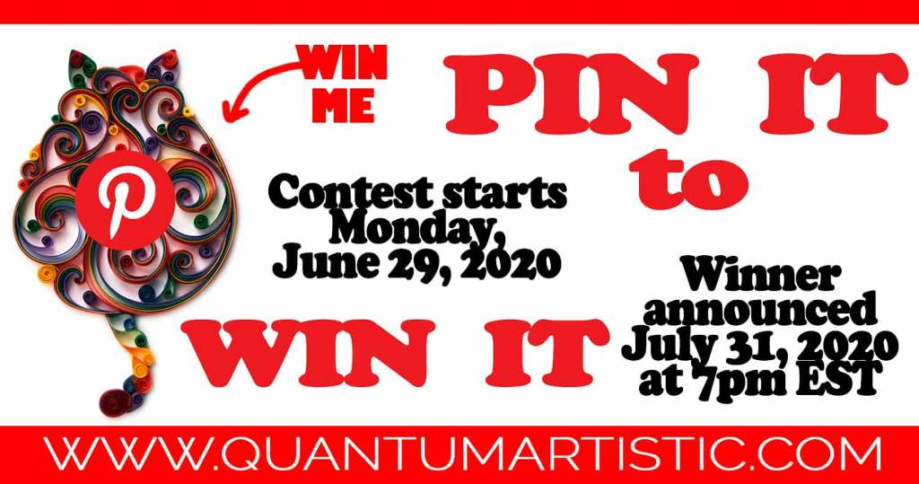 Pin It to Win It Contest
