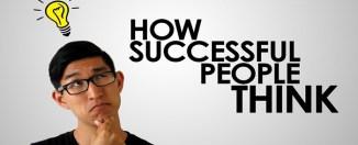 Cara Berpikir Orang Sukses Itu Seharusnya Begini