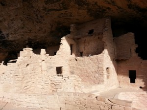 yup, some 70 rooms built in a recess carved into the canyon wall almost a thousand years ago.