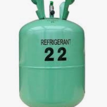 R22 recharge and leak repair