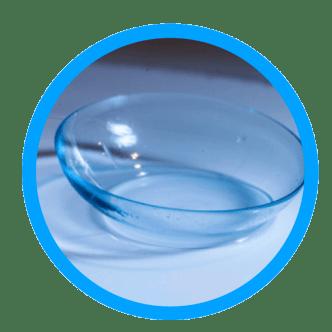 quantum lentes blandas de hidrogel