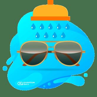 Quantum - gafas oscuras con gotas
