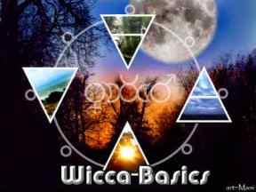 3 Wicca Basics