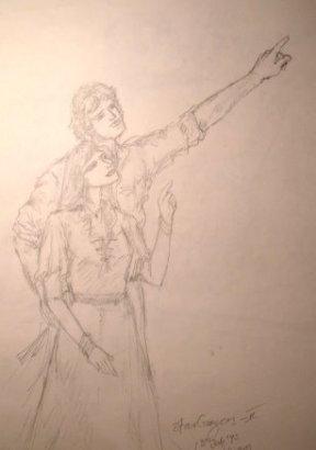 Stargazers - sketch2
