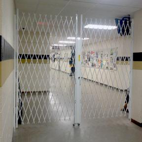 School Hallway Security Gates Quantum Security Gates