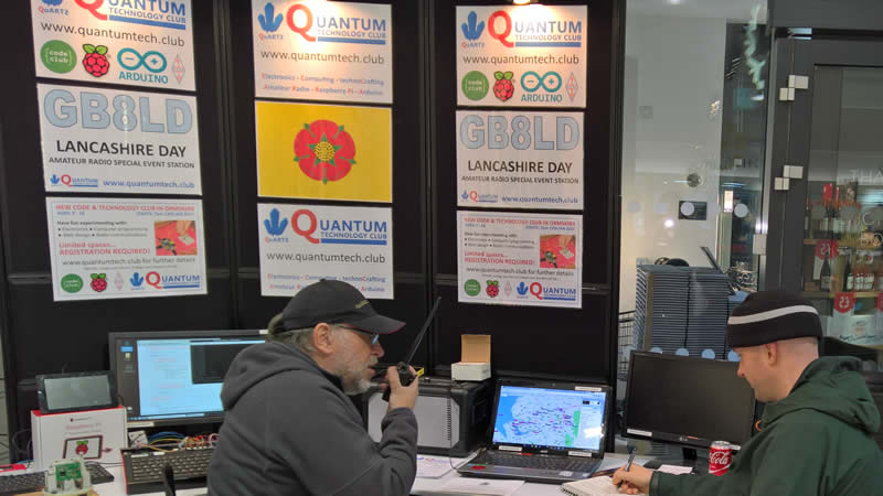 GB8LD Lancashire Day Amateur Radio special event station