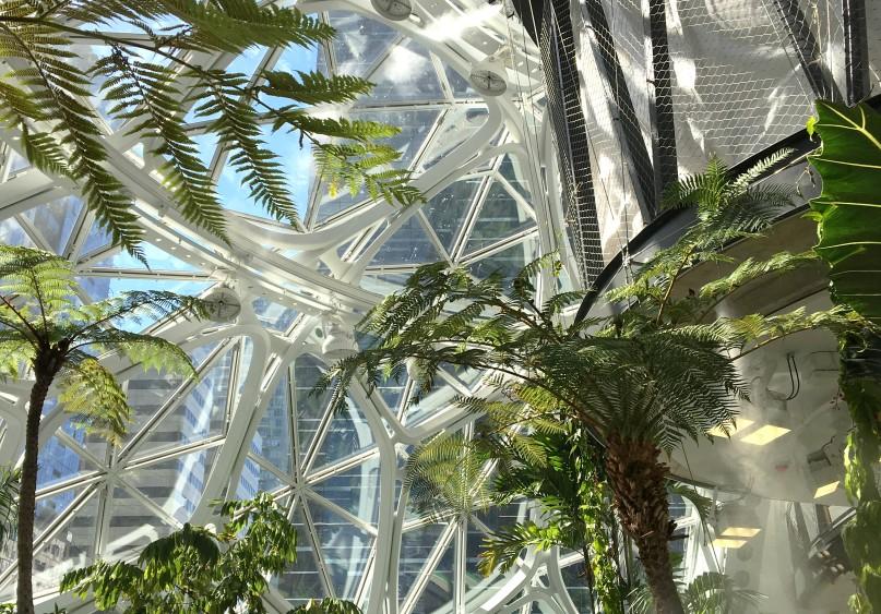 AWS Spheres in Seattle