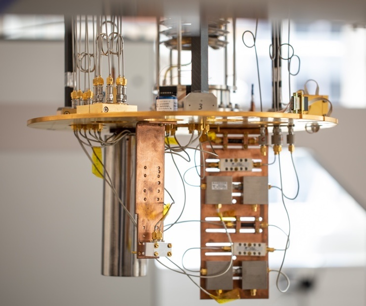 One of the devices that Oxford Quantum Circuits is developing. You can vote for Quantum Computing Startup of 2020 in the Europa Start-up awards.