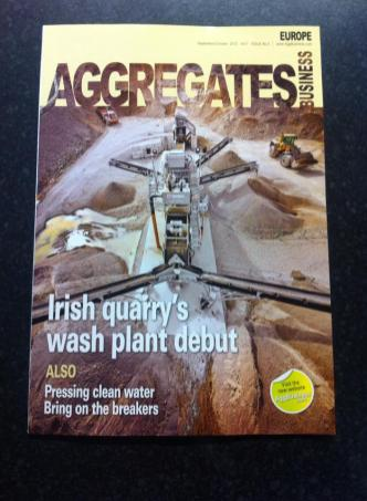 Dowling Quarries Ltd featured in the Magazine, 'Aggregates Europe'.
