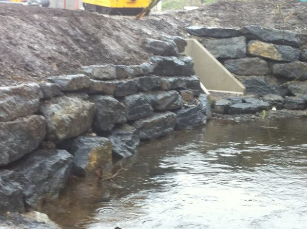 Dowling Quarries Ltd supplying stone to Co Laois Water Works Improvement Scheme