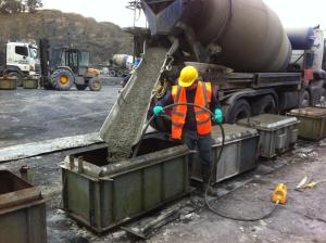 Interlocking Lego Block Production at Lisduff Quarry
