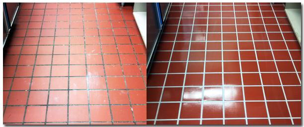 quarry tiled floors cleaning and sealing