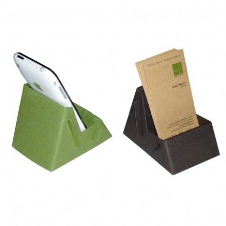 Porte Smartphone Et Support Cartes De Visite En Carton