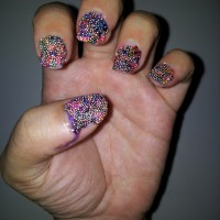 Caviar Manicure Quick Tutorial and Review