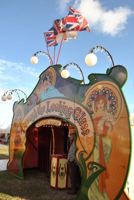 Goodwood Revival vintage fairground