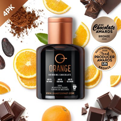 Q Orange Hot Chocolate 360mL (4 Pack)