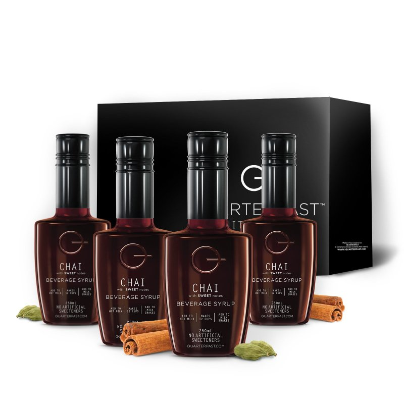 QUARTERPAST bottle of Chai with Sweet Notes -4pk
