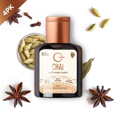 Q Chai Concentrate 360mL (4 Pack)