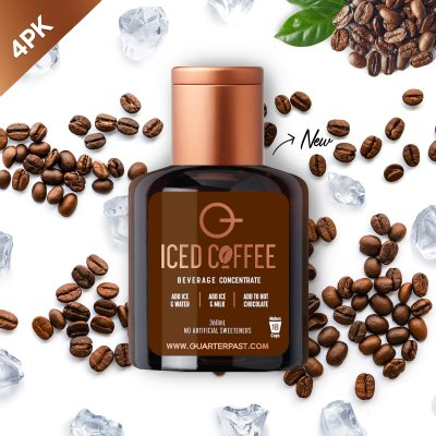 Q Iced Coffee Concentrate 360mL (4 Pack)