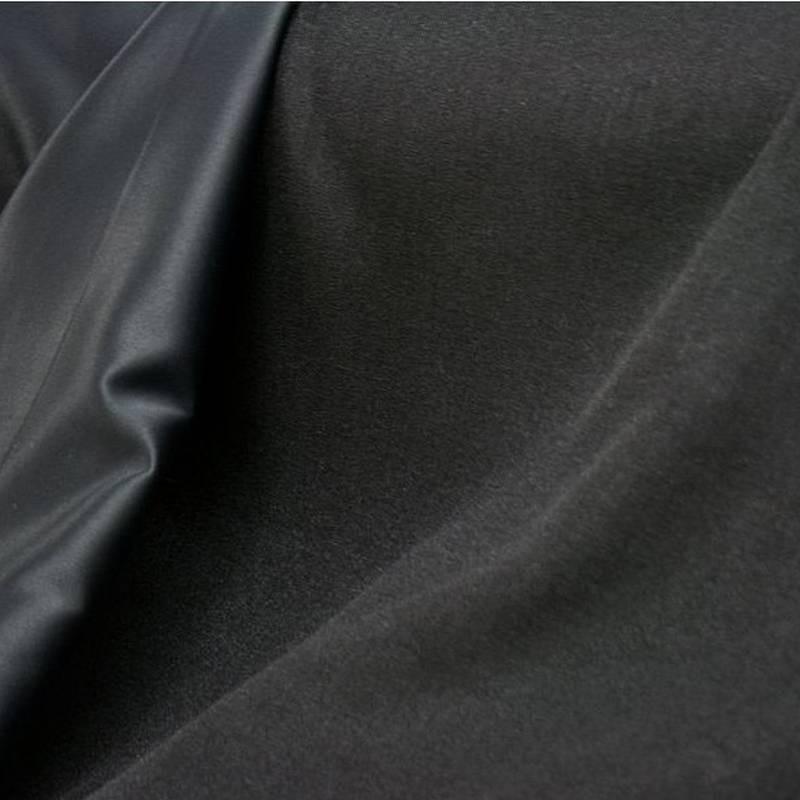 tissu occultant ignifuge polyester noir rideaux