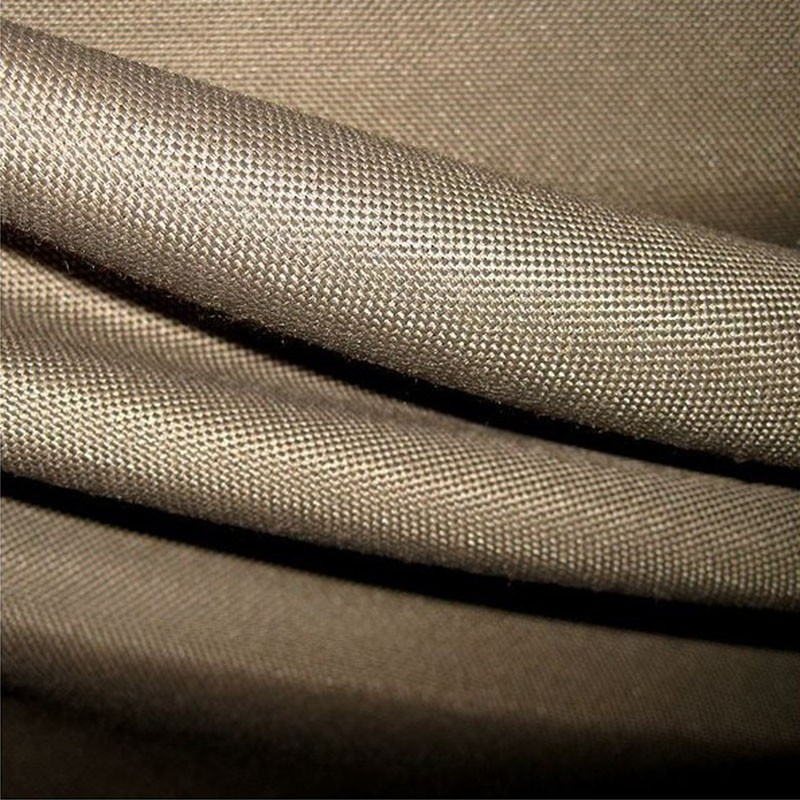 tissu ignifuge polyester taupe pendrillons rideaux de scene nappes