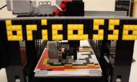L'imprimante 3D LEGO