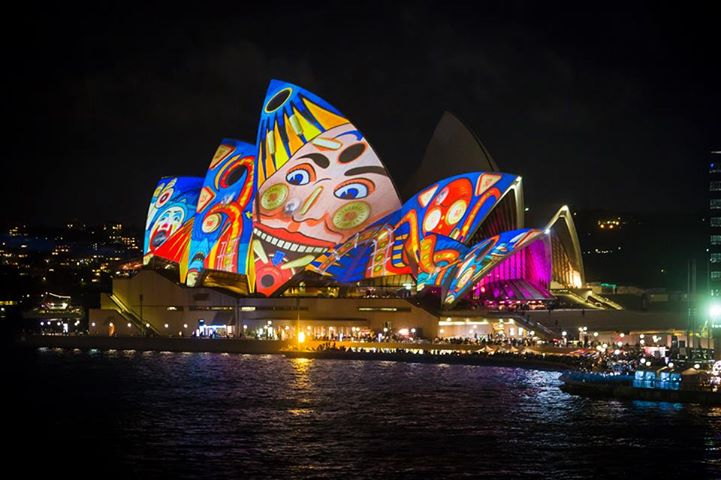 L'opéra de Sydney s'habille de lumières !