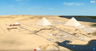 Visiter les pyramides [3D]. Ça vous dis ?