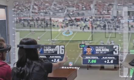 Microsoft réinvente la NFL Grâce à HoloLens !