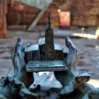 Catedral de Coventry, a catedral em ruínas