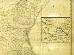 Mapa del reyno de Valencia (Juan José Carbonel. Valencia 1812).