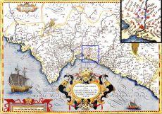 Valentiae regni, olim Contestanorum si Ptolemaeo, Edetanorum si Plinio credimus (Jerónimo Muñoz 1595)