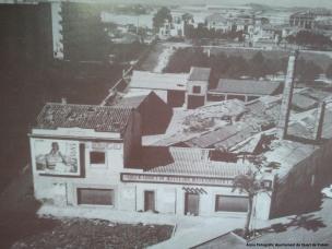 Antiga Fàbrica de taulells El Cid (on hui en dia s'alça l'Ambulatori de Quart)