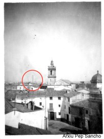 Vista de Quart des de les Teulades des del Carrer Cervantes cap al nordoest (Arxiu Pep Sancho).
