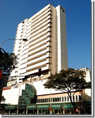Building exterior of Pertama Complex