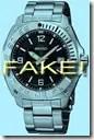 No fake Seikos please!
