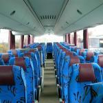 Bus  MAN 48+1+1 seats -interior -
