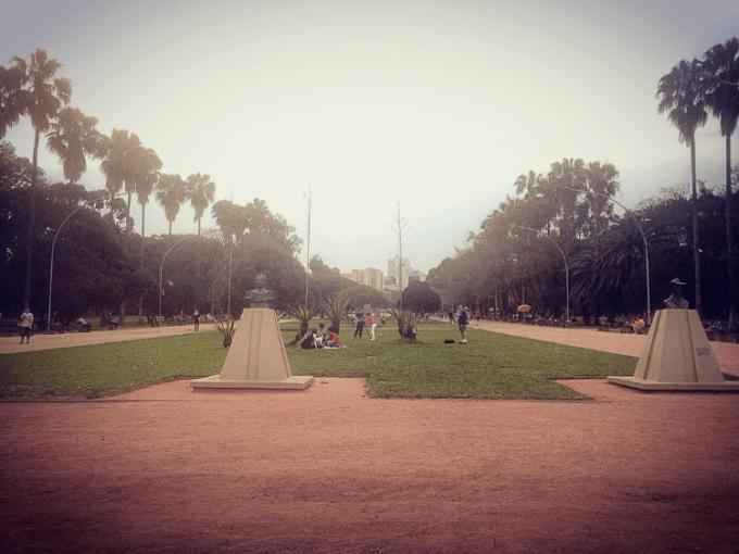 Parque da Redenção em um roteiro pelo Bom Fim - Porto Alegre